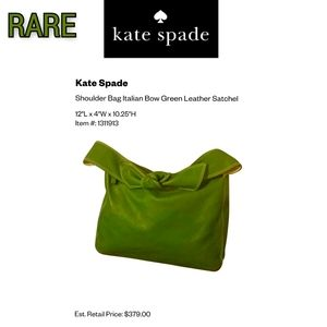 🦄 RARE- Made in Italy Authentic Kate Spade Bag